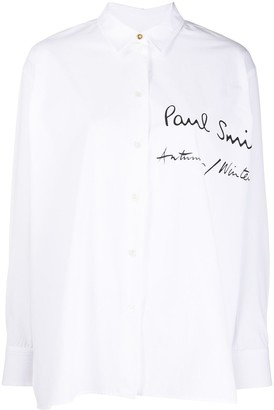Paul Smith White Logo Shirt