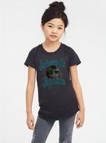 Junk Food Clothing Toddler Girls Nfl Jacksonville Jaguars Gameday Glitter Tee - 2t