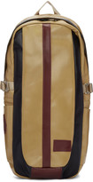 Master-piece Co Beige Leather Over Backpack