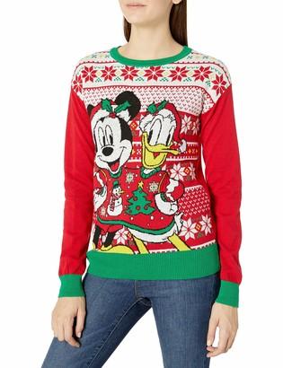Disney Women's Ugly Christmas Sweater