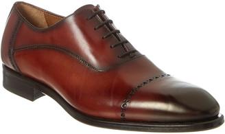 Antonio Maurizi Cap Toe Leather Loafer