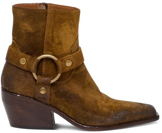 Elena Iachi Suede Ankle Boots