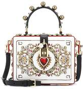 Dolce & Gabbana Dolce Box leather shoulder bag