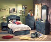 South Shore Summer Breeze Twin Storage Bed in Blueberry