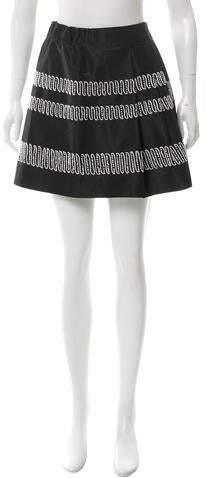 Maiyet Silk Embroidered Skirt w/ Tags