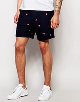 Farah Chino Short With Scattered Print