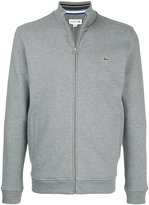 Lacoste zip-up sweatshirt