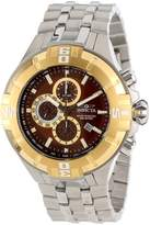 Invicta Men's 12361 Pro Diver Chronograph Dial Stainless Steel Watch