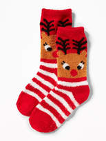 Old Navy Graphic Cozy Socks for Toddler & Baby