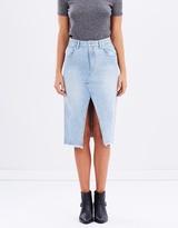 MinkPink Midi Vintage Skirt