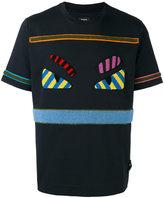 Fendi Bag Bugs T-shirt - men - Cotton/Acrylic/Spandex/Elastane/Wool - 50