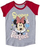 Disney Minnie Graphic Tee (Toddler) - Gray/Red-2T
