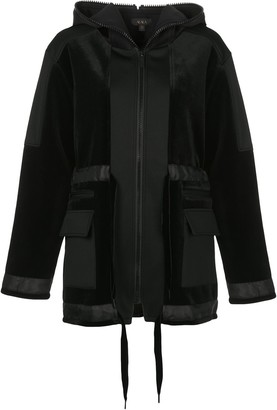 ALALA Zipped Hooded Jacket