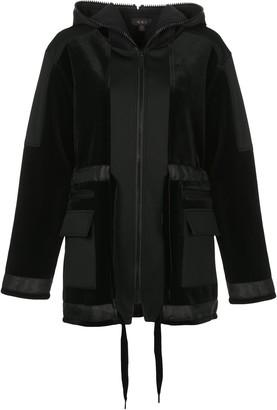 ALALA Zipped Hooded Jacket
