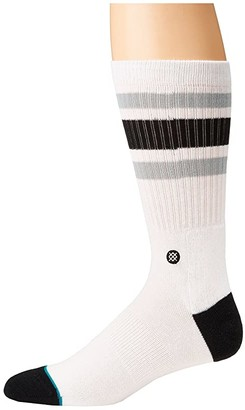 Stance Boyd 4 (Black) Men's Crew Cut Socks Shoes