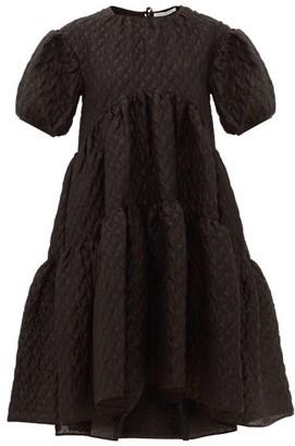 Cecilie Bahnsen Effie Linen-blend Cloque Dress - Black