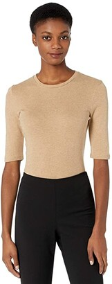Vince Elbow Sleeve Crew (Hazel) Women's T Shirt