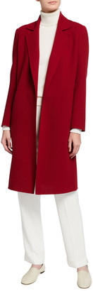 Lafayette 148 New York Wray Nouveau Crepe Wool Jacket