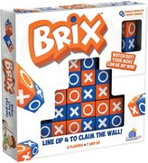 Blue Orange Games Brix : Line Up 4 To Claim The Wall! Board Game