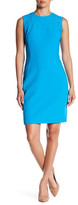 Anne Klein Lace Panel Sheath Dress