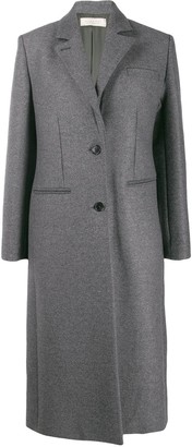 Nina Ricci fitted single-breasted coat
