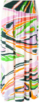 Emilio Pucci printed pleated skirt - women - Silk/Viscose - 38