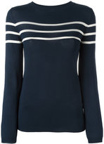 A.P.C. striped jumper - women - Viscose/Polybutylene Terephthalate (PBT) - XS