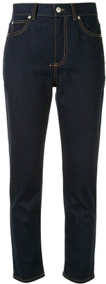 Alexander McQueen Straight-Leg Jeans