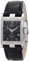 Roberto Bianci Midsize 9036LEA_BLK Swiss Chronograph with Date Watch