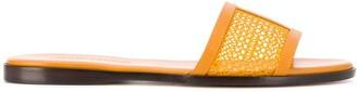 Jimmy Choo Minea mesh flat sandals