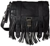 Proenza Schouler Women's Ps1 Mini Pouch Fringe, Black