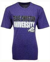 Colosseum Men's Texas Christian Horned Frogs Wordmark Stack T-Shirt