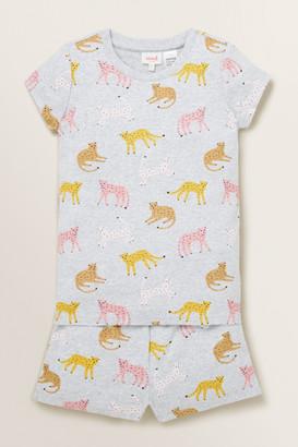 Seed Heritage Leopard Short Sleeve Pyjama
