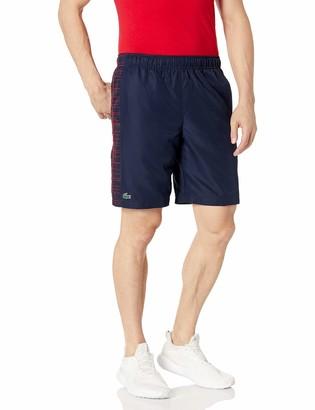 Lacoste Mens Sport 9.25'' Side Printed Panel Short Shorts