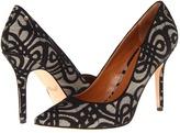 Rachel Roy - Ava (Black/White Fabric) - Footwear