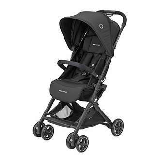 Bebe Confort Lara Ultra Compact Folding Stroller Unisex Children from Birth to 3.5 Years 0-15 kg 7 kg Nero (Essential Black)
