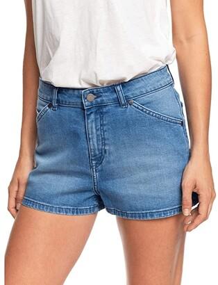 Roxy Comino Blue Lagoon (Medium Blue) Women's Shorts