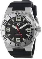 "Swiss Legend Men's 10008-01SET ""Expedition"" Stainless Steel, Silicone, and Dial Watch Set"