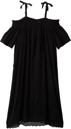 Harper Canyon Off-the-Shoulder Smock Dress (Big Girls)