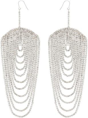 Area Embellished Drop Earrings