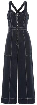 Ulla Johnson Romy cotton-blend twill jumpsuit