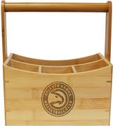 Atlanta Hawks Bamboo Utensil Caddy