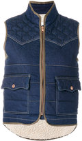 See by Chloe quilted gilet - women - Cotton/Acrylic/Polyamide/Virgin Wool - 38