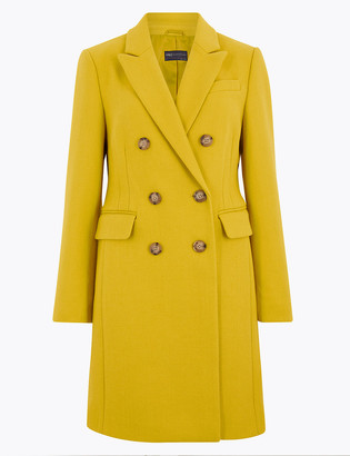 Marks and Spencer Petite Tailored Waisted Coat