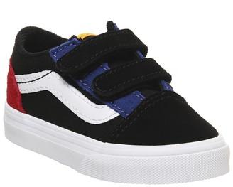Vans Old Skool (t) Trainers Colour Block Black True White