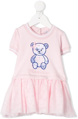 MonnaLisa Floral Teddy Dress