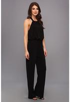 Jessica Simpson Halter Blouson Jumpsuit w/ Pockets