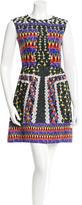Peter Pilotto Silk Printed Dress