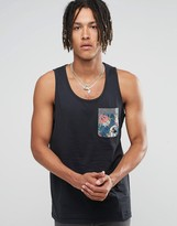 Billabong Floral Pocket Vest
