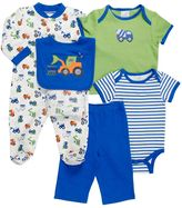Baby Gear Print Sleep & Play Set - Baby Boy